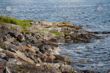Loch coastline stock photo, Highland loch coastline by Jaime Pharr