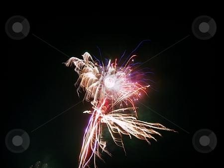 Indenpendence day stock photo, Fireworks on the 4th of July by Dustin Conine