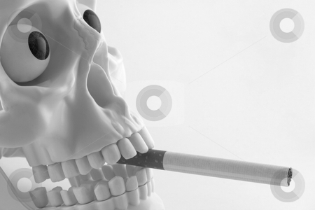 Smoking Kills stock photo, Anti smoking concept by Georgios Kollidas