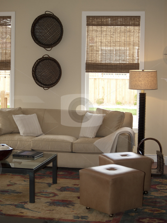 Living room stock photo, A nice living room by Cora Reed