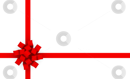 Gift Wrap stock photo, Gift Wrap Bow Ribbon for Presents Background by Kheng Ho Toh