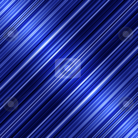 Shiny blue diagonal stripes abstract background. stock photo, Shiny blue diagonal stripes abstract background. by Stephen Rees