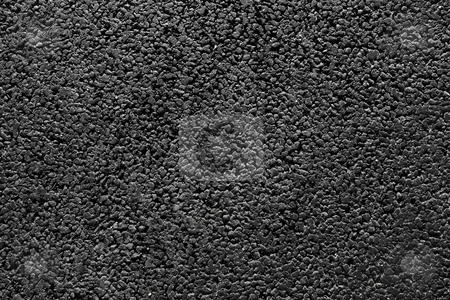 Shiny new black asphalt abstract texture background. stock photo, Shiny new black asphalt abstract texture background. by Stephen Rees