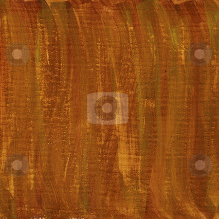 Red and brown watercolor abstract with canvas texture stock photo, Brown, orange, red watercolor abstract on white cotton artist canvas, self made by photographer by Marek Uliasz