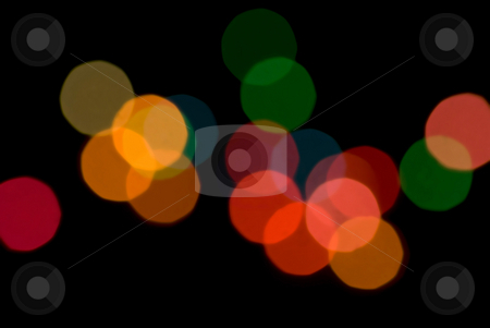 Bokeh Circles stock photo, A colourful pattern of out of focus bokeh circles by Stephen Gibson