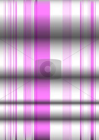 Pink ripple material stock vector clipart, Pink and white material background with folds in the material by Michael Travers