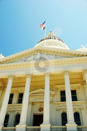 California State Capital Building stock photo,  by Glenda Purvis