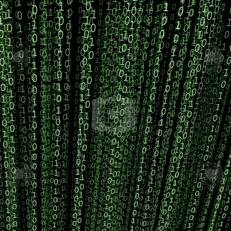 Binary code stock photo, Binaty code 3d image by Vladislav Plotnikov