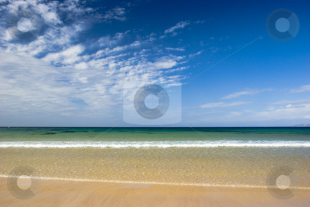 Beautiful beach stock photo, Beautiful beach empty of people by ikostudio