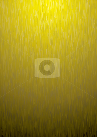 Gold metal background stock vector clipart, Brushed gold metal background with grain effect ideal desktop picture by Michael Travers