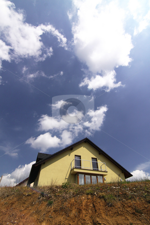 New house stock photo,  by Tomas Marek