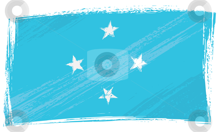 Micronesia Federated States Of Flag Coloring Pages