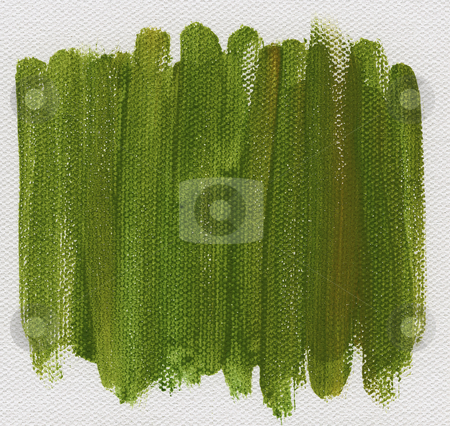 Green abstract painted on canvas stock photo, Green watercolor abstract on white artist canvas, self made by photographer by Marek Uliasz