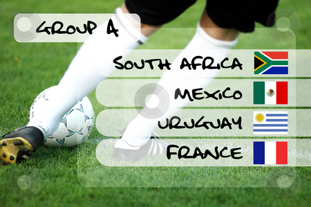 Group A - soccer world championship stock photo,  by Tomas Marek