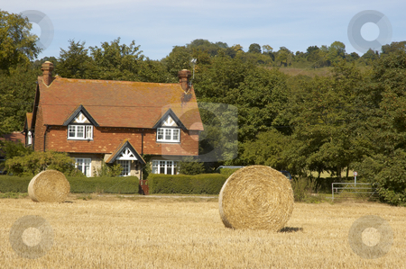Country home stock photo, An old house in the English countryside by Mark Bond