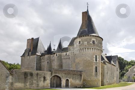Fougeres-sur-Bievre castle stock photo, Chateau de Fougeres sur Bievre, Loir-et-Cher, France by Rafael Laguillo