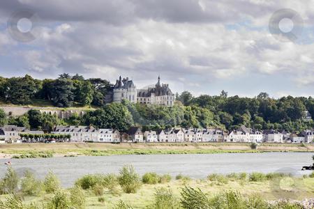 Chaumont sur Loire stock photo, Chaumont sur Loire village and castle, Loir-et-Cher, France by Rafael Laguillo