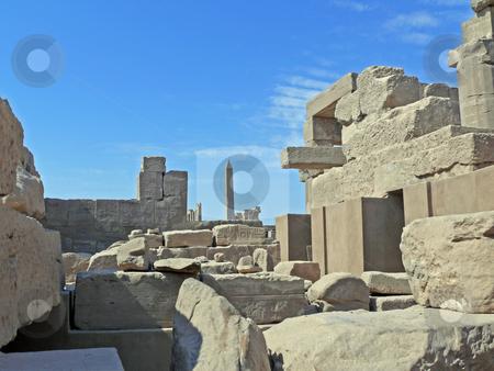 Ruins temple Karnak stock photo, Ruins of a temple Karnak in Luxor by Vadim Tsyba