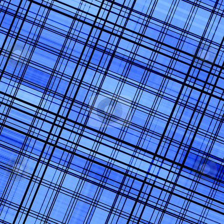 Blue color abstract diagonal lines pattern background. stock photo, Blue color abstract diagonal lines pattern background. by Stephen Rees