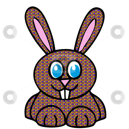 Easter Bunny stock photo, Cute easter bunny by CHERYL LAFOND