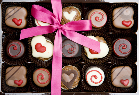 Chocolate stock photo, Chocolate box by Richard Semik