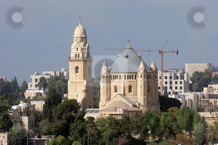Church Of Dormition on Mount Zion, Jerusalem stock photo, Church Of Dormition on Mount Zion, Jerusalem by Zvonimir Atletic
