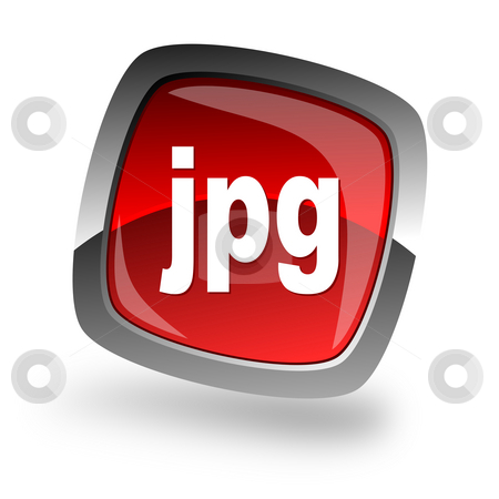Jpg file internet icon stock photo, Jpg file internet icon by Tomasz Kaczmarek