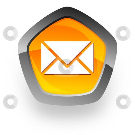 E-mail internet icon stock photo, E-mail internet icon by Tomasz Kaczmarek