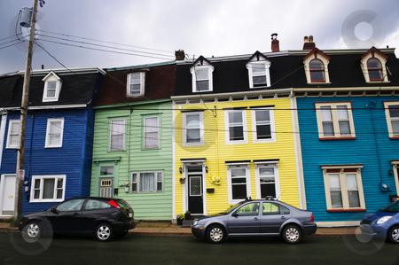 Colorful houses in St. John's stock photo, Colorful houses in St. John's, Newfoundland, Canada by Elena Elisseeva