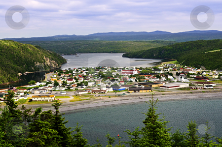 Town of Placentia in Newfoundland stock photo, Town of Placentia cityscape in Newfoundland, Canada by Elena Elisseeva