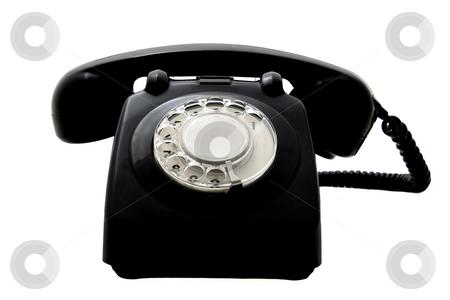 Vintage phone stock photo,  by ikostudio