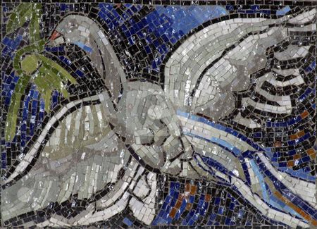 Bird symbol of Holy Spirit stock photo, Bird symbol of Holy Spirit by Zvonimir Atletic