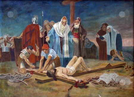 Crucifixion: Jesus is ...
