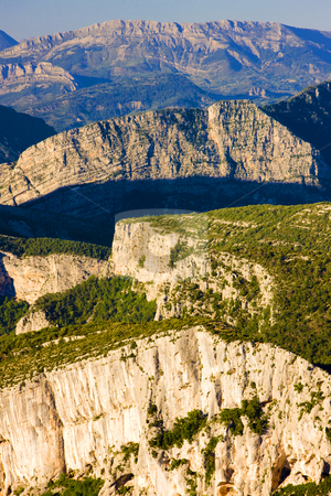Verdon Gorge, Provence, France stock photo, Verdon Gorge, Provence, France by Richard Semik