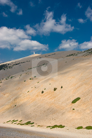 Am Mont Ventoux, Provence - At the Mont Ventoux, Provence stock photo, Der Mont Ventoux ist ein einsam aufragender, 1.912 m hoher Berg in der franz?sischen Provence - Mont Ventoux is a mountain in the Provence region of southern France by Wolfgang Heidasch