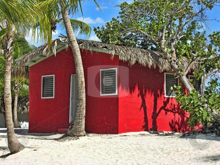 Small and Coloured Homes on the Coast of Santo Domingo stock photo, Small and Coloured Homes on the Coast of Santo Domingo, Dominican Republic by Giovanni Gagliardi