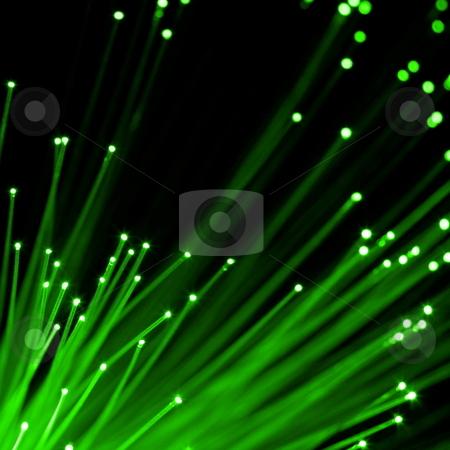 Internet computer technology stock photo, Wallpaper with intetnet technology concept showing fiber opticsc by Gunnar Pippel