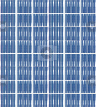 Solar panels stock photo, A photography of a solar panels texture by Markus Gann