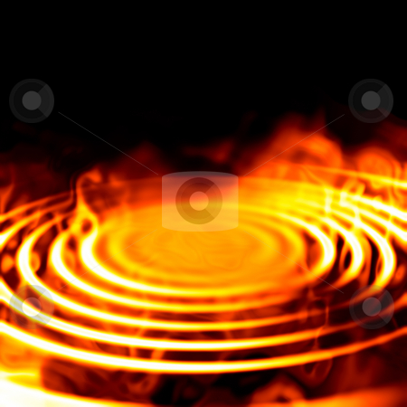 Fire graphic stock photo, An illustration of a nice abstract fire graphic background by Markus Gann