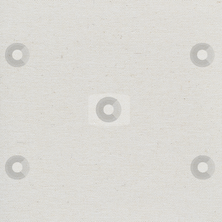 Blank artist canvas stock photo, Coarse texture of blank artist cotton canvas background (unfinished surface) by Marek Uliasz