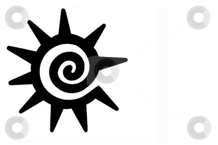 Soutwestern Sun Symbol Stock Photo