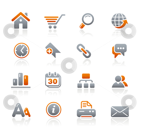 Web Site  stock vector clipart, Professional icons for your website or presentation. -eps8 file format- by Diego Alies