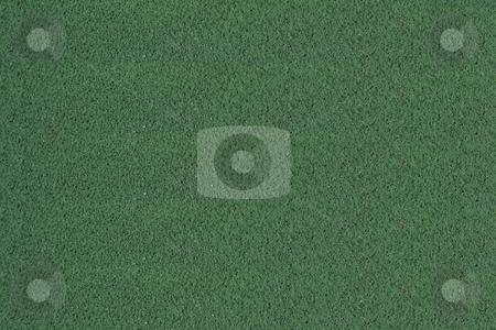 Tennis Ball stock photo, A Tennis ball on a green court by Jim Mills
