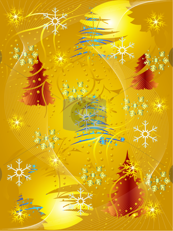 Abstract background for Christmas  stock vector clipart, Abstract background for Christmas by Miodrag Stepanovic
