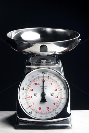 Kitchen scales stock photo, Kitchen scales by Richard Semik