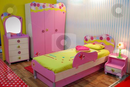 Children room stock photo, Children room by Goce Risteski