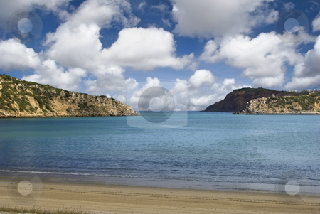 Blue Bay stock photo, Beautiful bay in a beautiful day with turquoise water by ikostudio