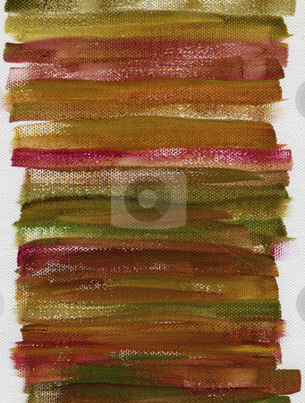 Grunge multicolor painted background stock photo, Red, green and brown grunge watercolor abstract on white artist canvas with a coarse texture, self made by photographer by Marek Uliasz