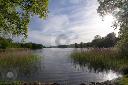 Spring stock photo, A Lake in north-east Germany in  the region Uckermark in springtime by Kai Schirmer