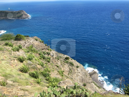 Antigua in the Caribbean stock photo, Island of Antigua in the Caribbean by Ritu Jethani